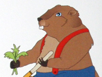 Groundhog Weeding Tool Tag