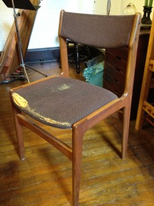Dining room chair - Before