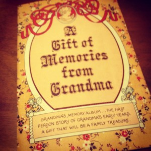 Gift of Memories from Grandma
