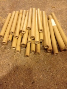 Bamboo for bee box