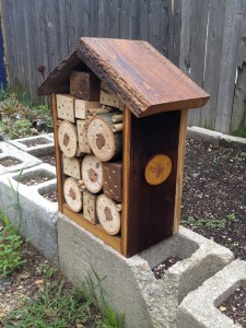 Finished bee box