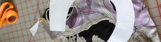 Shirt ruffle pattern
